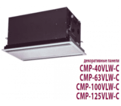 Декоративная панель Mitsubishi Electric CMP-125VLW-B