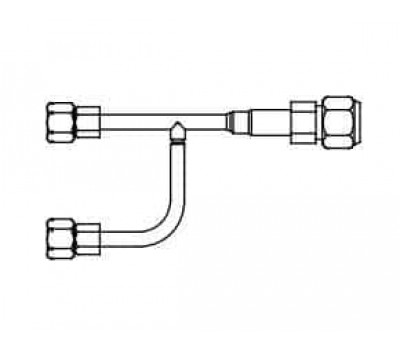 Mitsubishi Electric PAC-AK52YP-E (Комплект объединителей портов для подключения внутренних блоков PLA-RP100BA)